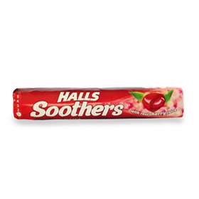 Halls Soothers Cherry Juice Sweets 45g