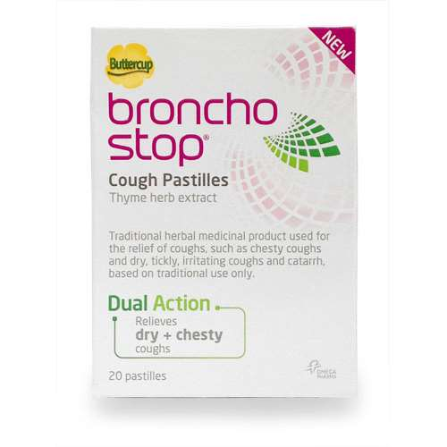 Image of Buttercup Broncho stop pastilles 20