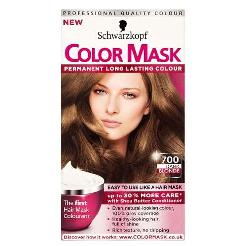 Image of Schwarzkopf Color Mask 700 dark blonde permanent level 3