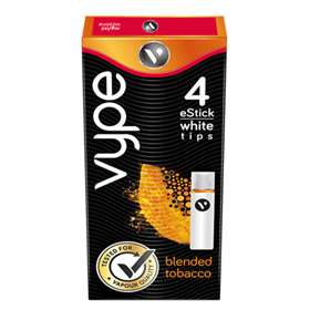 Vype eStick White Tips Blended Tobacco 12.5mg (4)