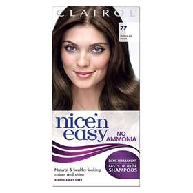 Clairol Nice'n Easy Demi Permanent Hair Colour Up To 24 Washes Medium Ash Brown 77