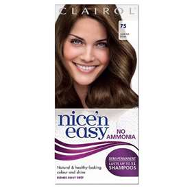 Clairol Nice'n Easy Demi Permanent Hair Colour Up To 24 Washes Light Ash Brown 75