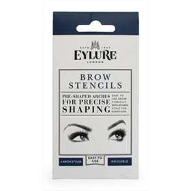 Eylure Reusable Brow Stencils 4 Arch Styles
