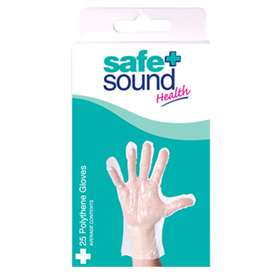Safe and Sound Polythene Gloves 25