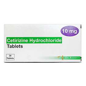 Cetirizine 10 mg Tablets 30