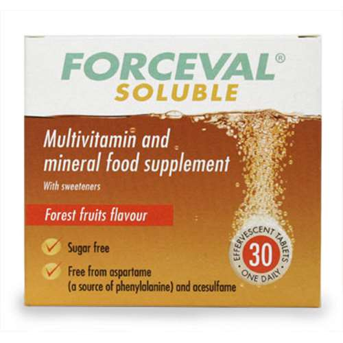 Forceval Soluble Effervescent Tablets 30