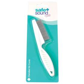 Safe and Sound Handled Nit Comb