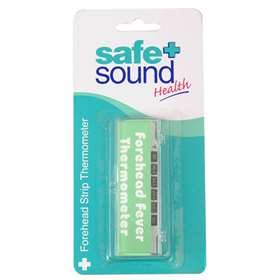 Safe and Sound Forehead Strip Thermometer