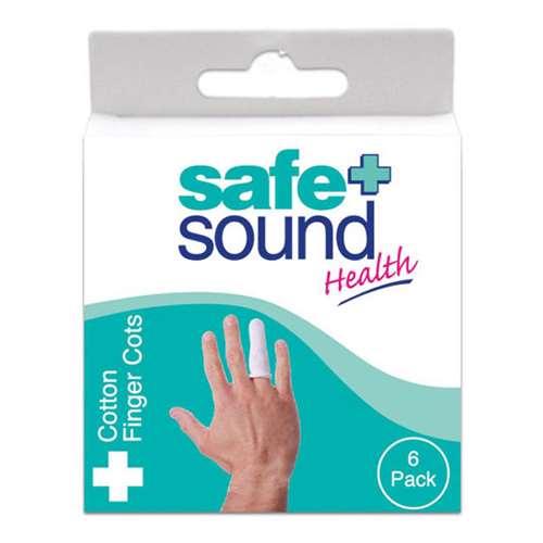Safe and Sound Cotton Finger Cots 6