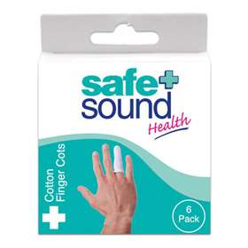 Safe and Sound Finger Cots 6 Pack SA8309