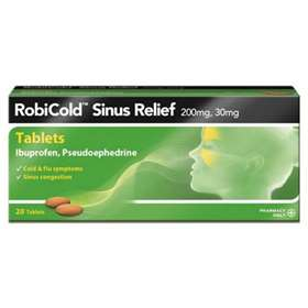 Robicold Sinus Relief Tablets 20