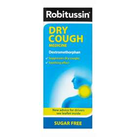 Robitussin Sugar Free Dry Cough 250ml