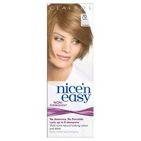 Clairol Nice'n Easy Non-Permanent Hair Colour Up To 8 Washes Beige Blonde 70