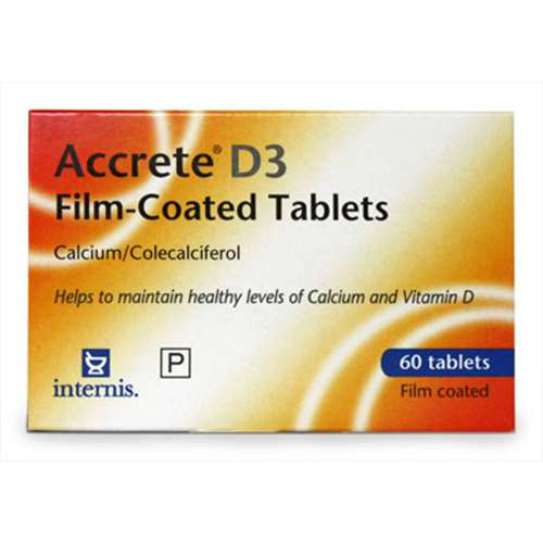 Image of Accrete D3 Tablets 60