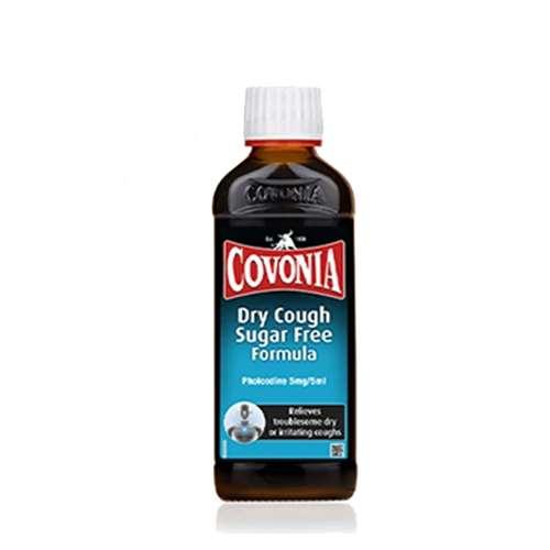 Image of Covonia Dry Cough Sugar Free Formula 150ml