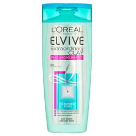 L'Oreal Elvive Extraordinary Clay Re-Balancing Shampoo 250ml