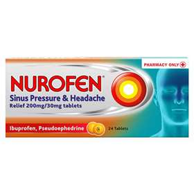 Nurofen Sinus Pressure and Headache Relief Tablets 24
