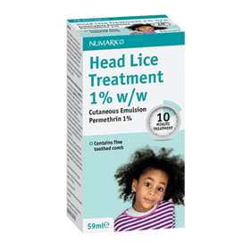 Numark Head Lice Treatment 1% w/w 59ml
