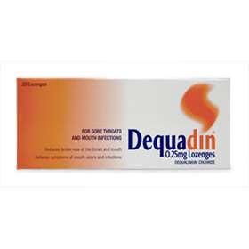 Dequadin 0.25mg Lozenges 20