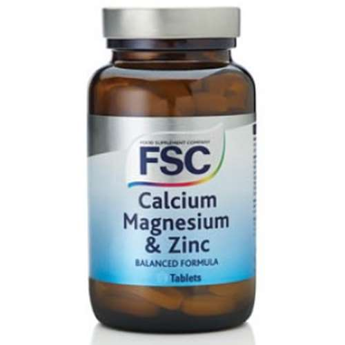 Image of FSC Calcium Magnesium & Zinc 30 Tablets