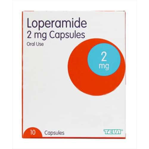 Loperamide 2mg Capsules 10