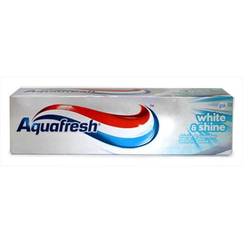 Image of Aquafresh White and Shine Toothpaste 75ml