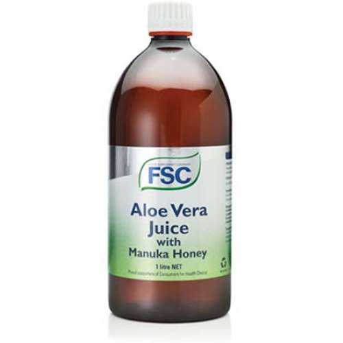 FSC Aloe Vera Juice with Manuka Honey 1 Litre
