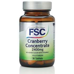 FSC Cranberry Concentrate 2400mg 30 Tablets
