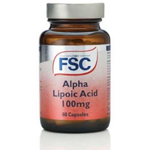 Image of FSC Alpha Lipoic Acid 100mg 60 Capsules