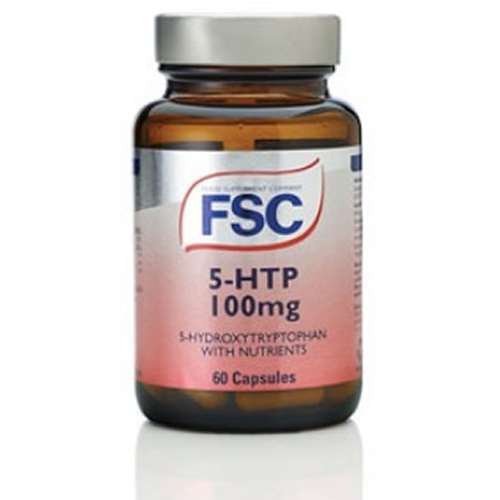 FSC 5-HTP 100mg 5-Hydroxytryptophan With Nutrients 60 Capsules