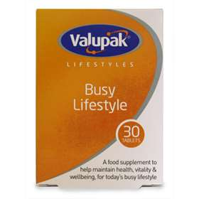Valupak Lifestyles Busy Lifestyle 30 Tablets