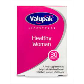 Valupak Lifestyles Healthy Woman 30 Tablets