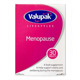 Valupak Lifestyles Menopause 30 Tablets