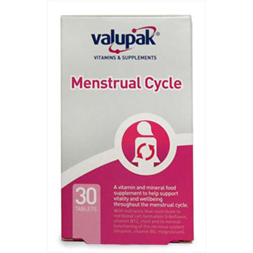 Menstrual cycle tablets