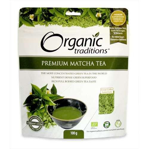Organic Traditions Premium Matcha Tea 100g