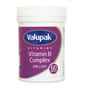 Valupak Vitamins Vitamin B Complex One A Day 60 Tablets