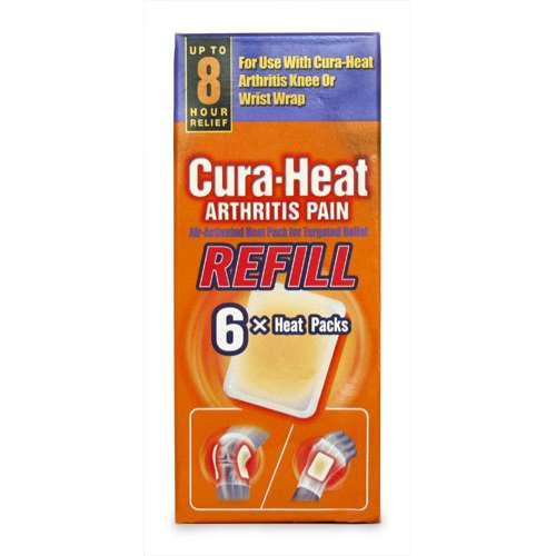 Image of Cura-Heat Arthritis Pain Refill Heat Packs 6