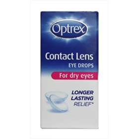 Optrex Contact Lens Dry Eye Eye Drops 10ml
