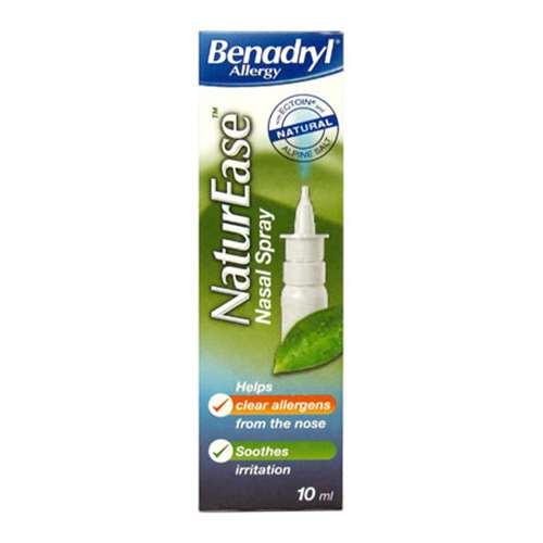 Image of Benadryl NaturEase Nasal Spray 10ml