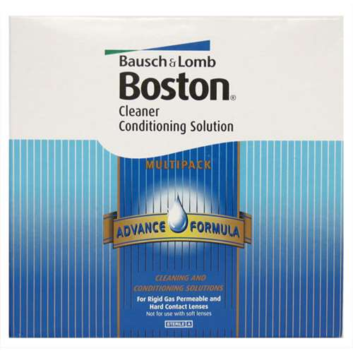 Image of Bausch & Lomb Boston Cleaner Conditioning Solution 3 Month Supply