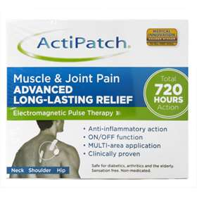 Actipatch Muscle And Joint Pain Advanced Long-Lasting relief 1