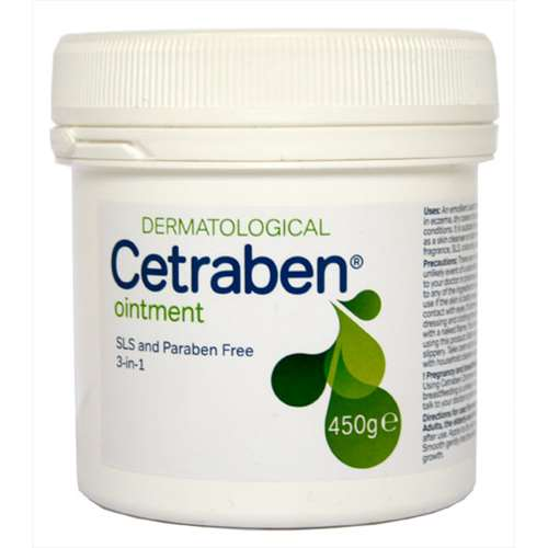 Image of Cetraben 3-in-1 Ointment 450g