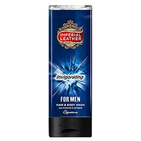 Imperial Leather Invigorating Hair and Body Wash For Men 250ml