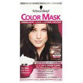 Schwarzkopf Color Mask Dark Chocolates Black Brown 300