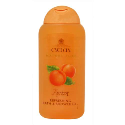 Image of Cyclax Apricot Refreshing Bath and Shower Gel 300ml