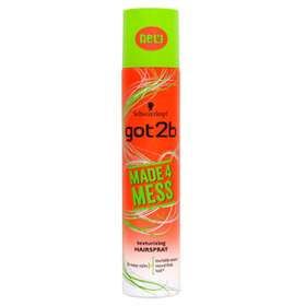 Schwarzkopf got2b Made4Mess Texturizing Hairspray 275ml