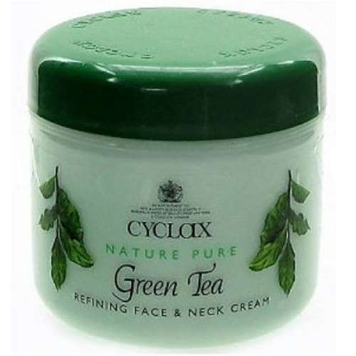 Image of Cyclax Green Tea Refining Face and Neck Cream 300ml