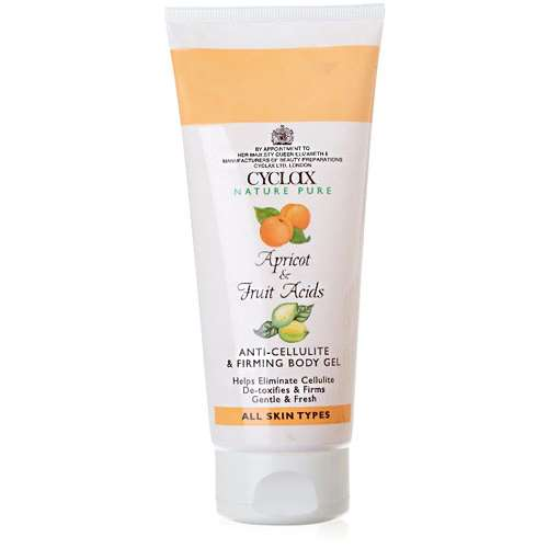 Image of Cyclax Apricot & Fruit Acids Anti-Cellulite & Firming Body Gel 200ml