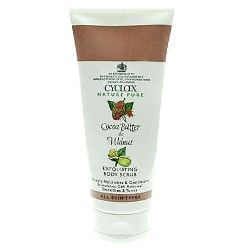 Image of Cyclax Cocoa Butter & Walnut Exfoliating Body Scrub 200ml