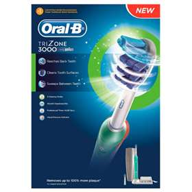 Oral B Trizone 3000 Electric Rechargeable Toothbrush